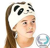 CozyPhones Kids Headphones Volume Limited with Ultra-Thin Speakers Soft Fleece Headband - Perfect