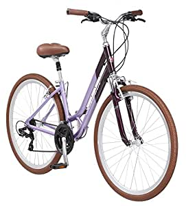"Schwinn Capitol Women's Hybrid Bicycle Lavender 700c Wheel, 16 ""/Small Frame Size"