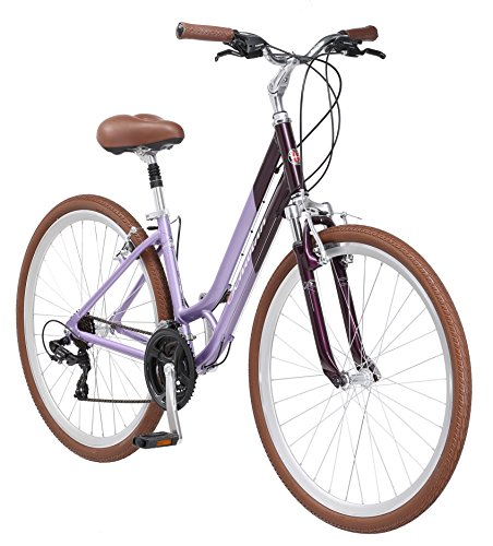 "Schwinn Capitol Womens Hybrid Bicycle Lavender 700c Wheel, 16 ""/Small Frame Size"