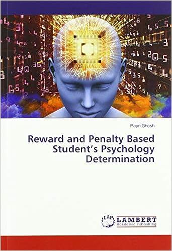 Livre en pdf gratuit Reward and Penalty Based Student's Psychology Determination