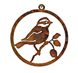 Elegant Garden Design Black-Capped Chickadee 3-inch Ornament For Sale