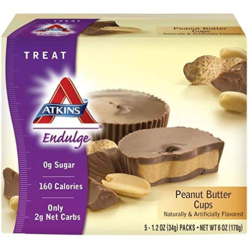 Atkins Endulge Bars Chocolate Peanut Butter Cups 1.2 oz 5 ct