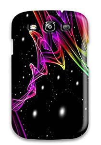 Flexible Tpu Back Case Cover For Galaxy S3 - Funky Colors
