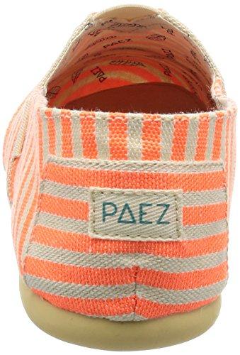 Multicolore Neon Surfy Espadrillas Orange Original Donna Paez 610 TwfqxIvf
