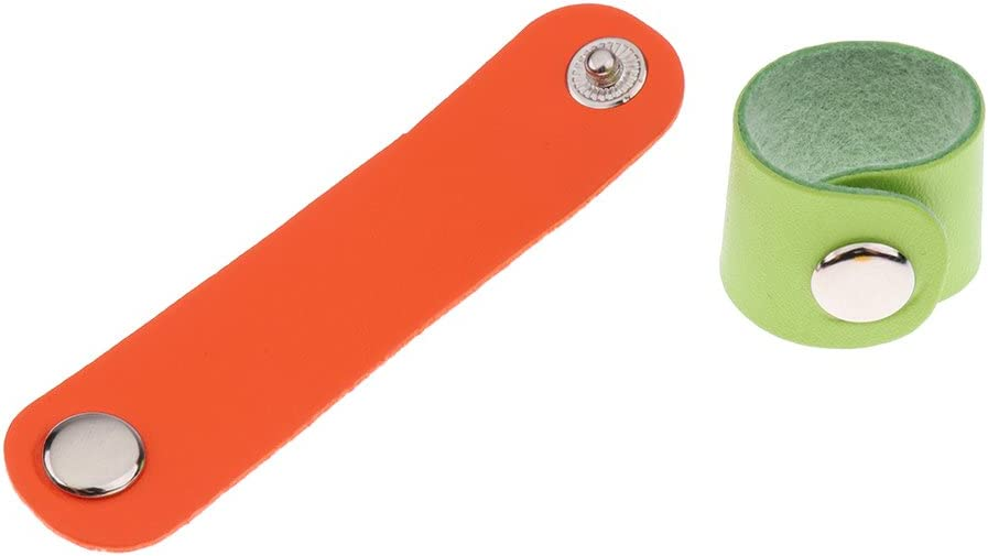 IPOTCH 20 St/ück Leder Schal-Tuchclip Schalclip Tuchhalter Tuchspange Verschluss Schlie/ße Knopf Schnalle Clip