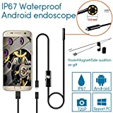 Mbangde 5.5mm HD 1.3MP USB Endoscope Waterproof Borescope Digital Inspection Video Camera for Android Device with OTG Function 3.5M Cable