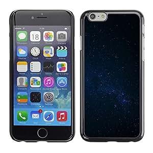 FECELL CITY // Duro Aluminio Pegatina PC Caso decorativo Funda Carcasa de Protección para Apple Iphone 6 Plus 5.5 // Night Sky Stars Milky Way Galaxy