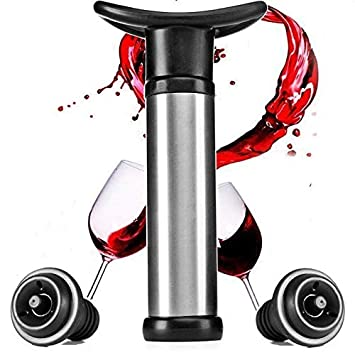 Wine Preserver Wine Stoppers For Bottles Of Opened Wine Wine Vacuum Pump Wine Pump Vacuum Wine Stopper By Pure Opulence