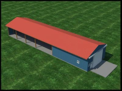 Build your own 30' Wide Pole Shed / Barn (DIY Plans) Fun to build! Save money! from The Best DIY Plans Store