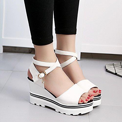 Et Du Pentes Sandals Compacte paisses Pour Yalanshop Avec tudiants Femme Gnoise Secondaire Une Blanc Polyvalente Ultra Les Fines Summer 36 Graphics tqtxwaP