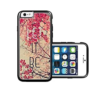 RCGrafix Brand let-it-be-pink-trees iPhone 6 Case - Fits NEW Apple iPhone 6