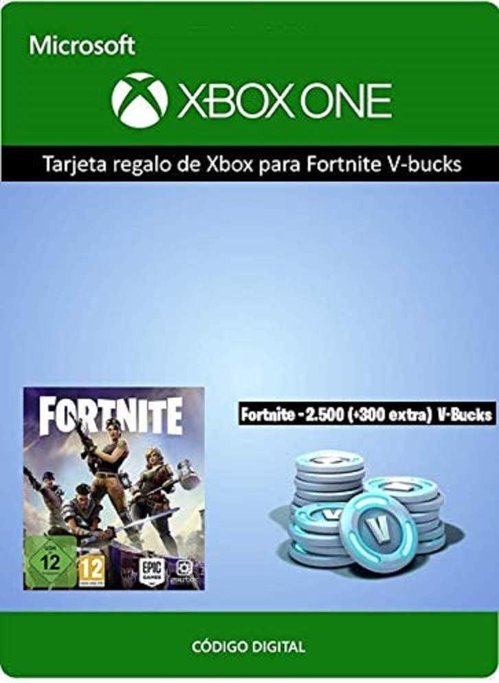 Tarjeta regalo de Xbox para Fortnite 2800 V-Bucks | Xbox One - Código de descarga