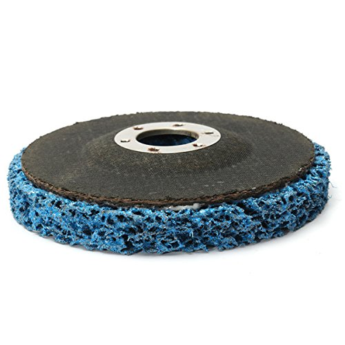 CynKen 5pcs 110mm Polycarbide Abrasive Stripping Disc Wheel Rust And Paint Removal Abrasive Disc by CynKen (Image #5)