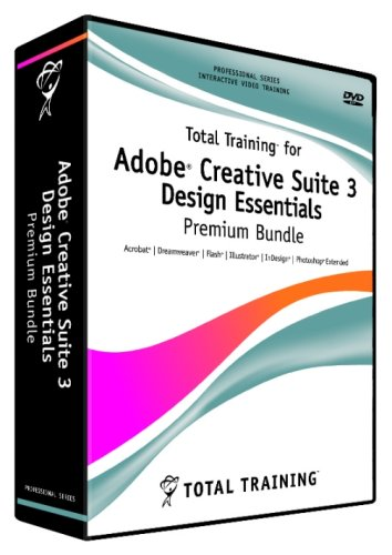 Total Training For Adobe Creative Suite 3  Design Essentials Premium Bundle