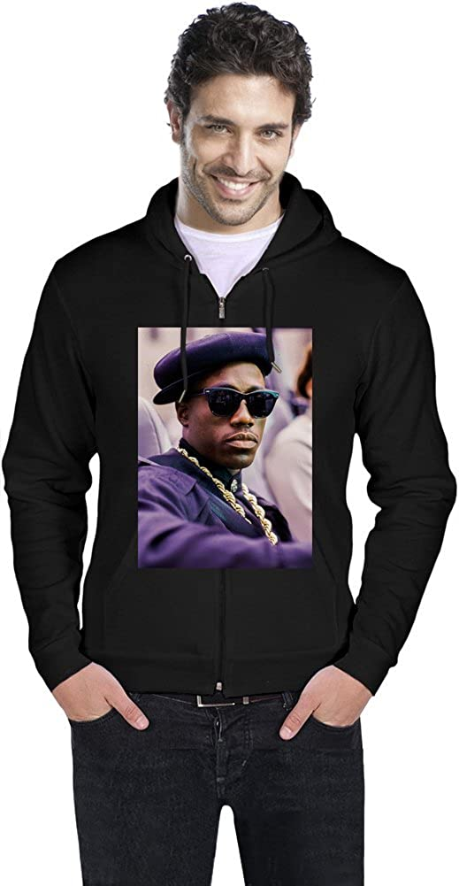 NINO BROWN Wesley Snipes Mens Zipper Hoodie: Amazon.es: Ropa y accesorios