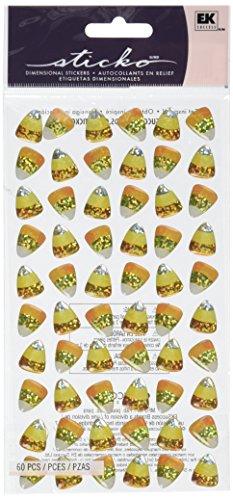 Sticko E5220042 Candy Corn Treats Sticker -