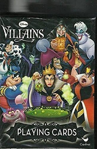 Product picture for Disney Villains Deck of Playing Cards