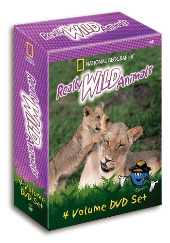 National Geographic's Really Wild Animals Gift Set by Warner Home Video