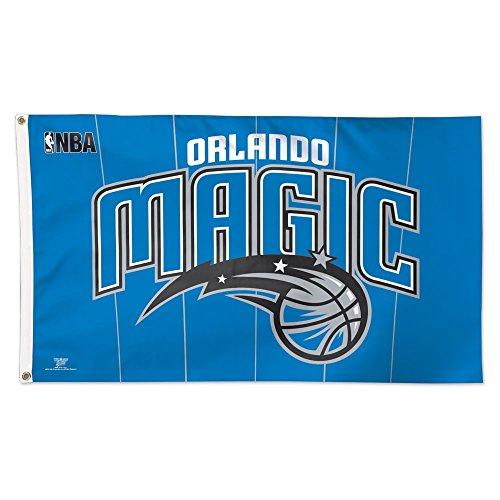 NBA Orlando Magic 02403115 Deluxe Flag, 3' x 5'