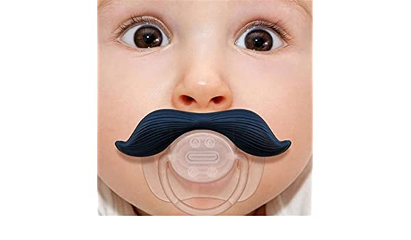 Huer divertido Chupete Barba Forma Baby beiss anillos ...