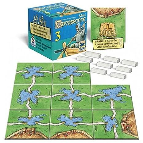 Mini Carcassonne 3 - Transbordadores: Amazon.es: Juguetes y juegos