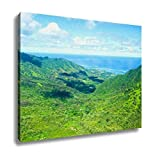 Ashley Canvas, Aerial View Of Oahu Island In Hawaii, Home Decoration Office, Ready to Hang, 20x25, AG6403186