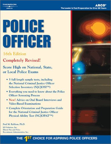 Master the Police Officer Exam, 16/e (ARCO CIVIL SERVICE TEST TUTOR)