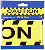 Beistle 66106 Caution Party Tape, 3-Inch by 20-Feet