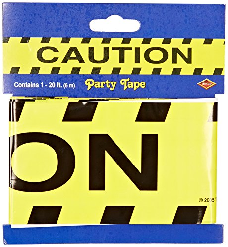 Caution Party Tape Party Accessory (1 count) (Construction Party Decorations)