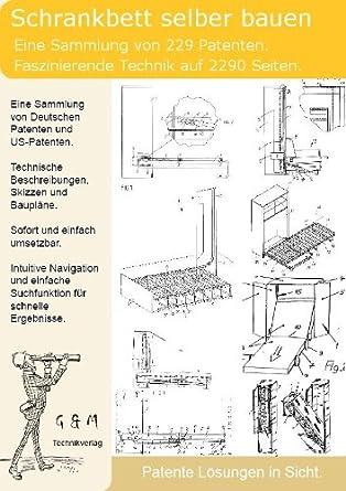 Schrankbett selber bauen: 229 Patente zeigen wie!: Amazon.de: Software