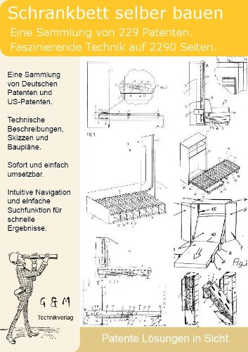 Schrankbett Selber Bauen 229 Patente Zeigen Wie Amazon De Software