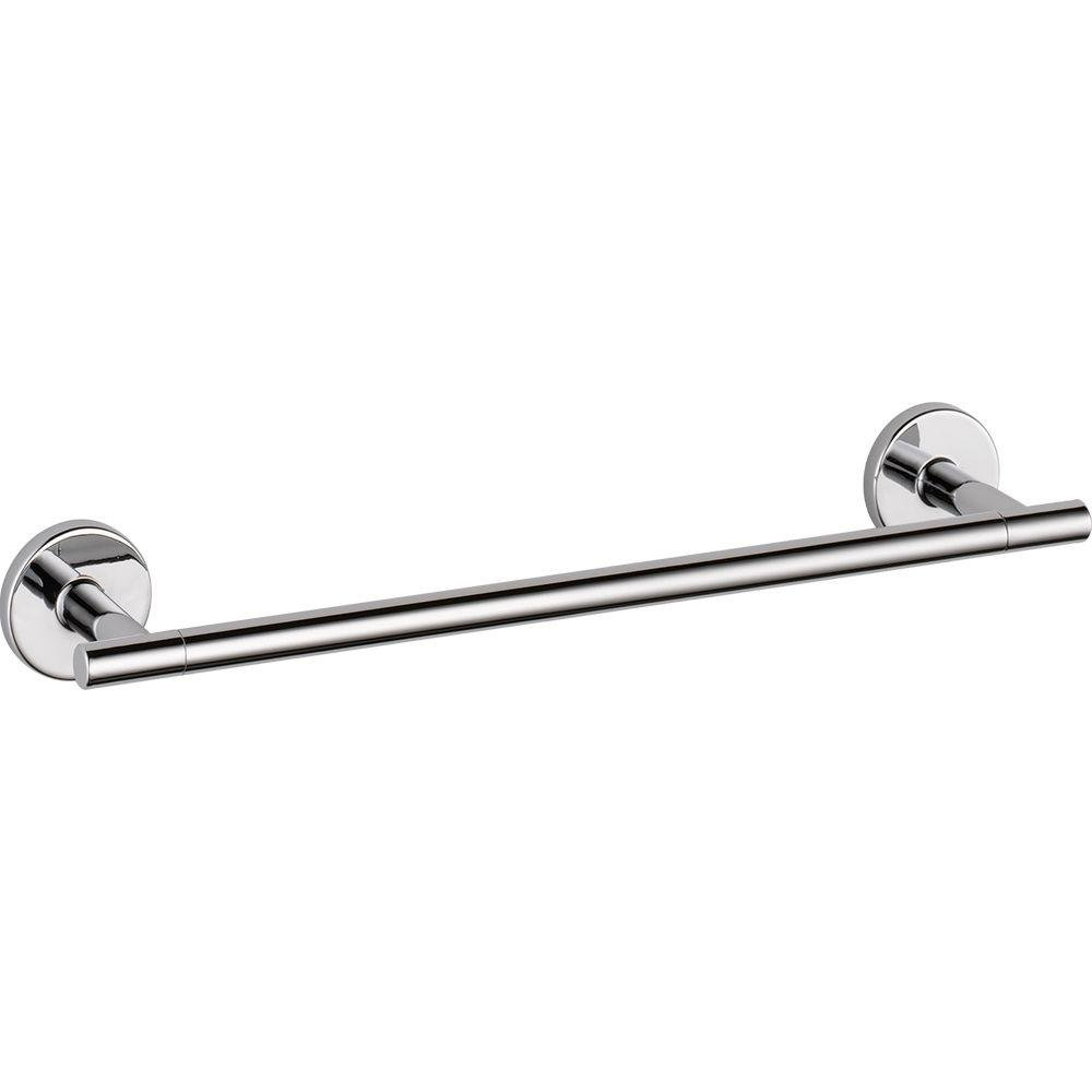 Delta Faucet 75912 Trinsic 12-Inch Towel Bar, Chrome