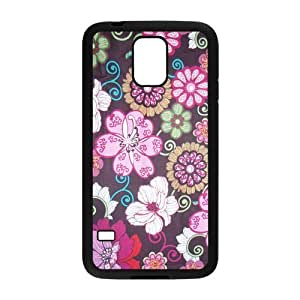 ROBIN YAM- Vera Bradley Galaxy S5 Case, Protective Hard Rubber Case Cover for Galaxy S5 / Galaxy SV -KRY349