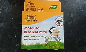 Tiger Balm parche repelente de mosquitos (10PC en cada paquete