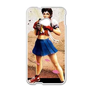 HTC One M7 White phone case Video Games Super Street Fighter 4 VGS1762358
