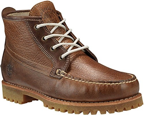 Timberland Mens Authentics Chukka Mellanbrun Full Grain