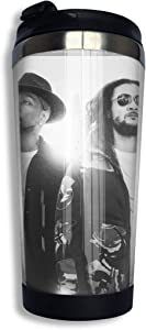DonaldKAlford Bone Thugs-n-Harmony Coming Home 14 OZ Reusable Coffee Cup,Stainless Steel Coffee Cup,Suitable for Home,Office,School,Coffee Mugs