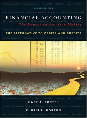 Financial Accounting: The Impact on Decision Makers, The Alternative to Debits and Credits