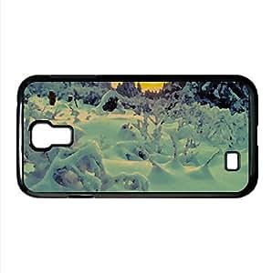 Snowy Season Watercolor style Cover Samsung Galaxy S4 I9500 Case (Winter Watercolor style Cover Samsung Galaxy S4 I9500 Case)