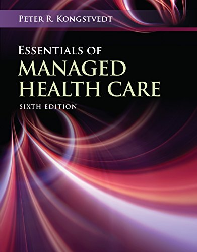 Essentials of Managed Health Care Pdf