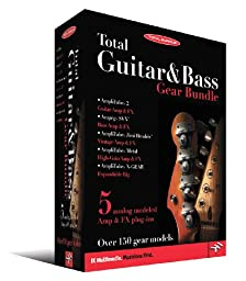 IK Multimedia Total Guitar & Bass Gear Bundle Software
