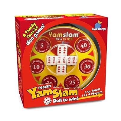 Pocket Yamslam Board Game (Color May Vary): Toys & Games