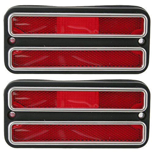 Front Side Marker Parking Turn Signal Corner Lights Pair Set for Chevy GMC Truck ()