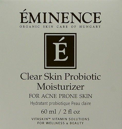 Eminence Clear Probiotic Moisturizer 60ml(2oz) Acne Prone Skin New Fresh Product