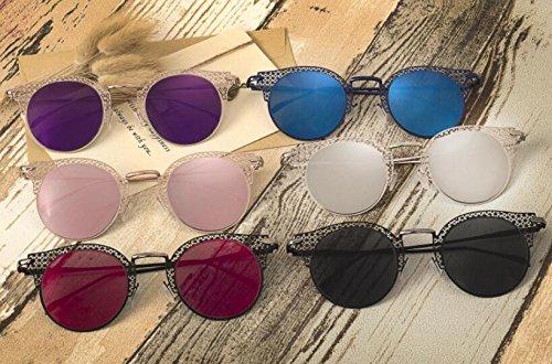 Gafas mano sol sol mujer callejeros MAIDIS C6 Moda gray Koyi Disparos Black film box de talladas Gafas de a Ygfvwq8