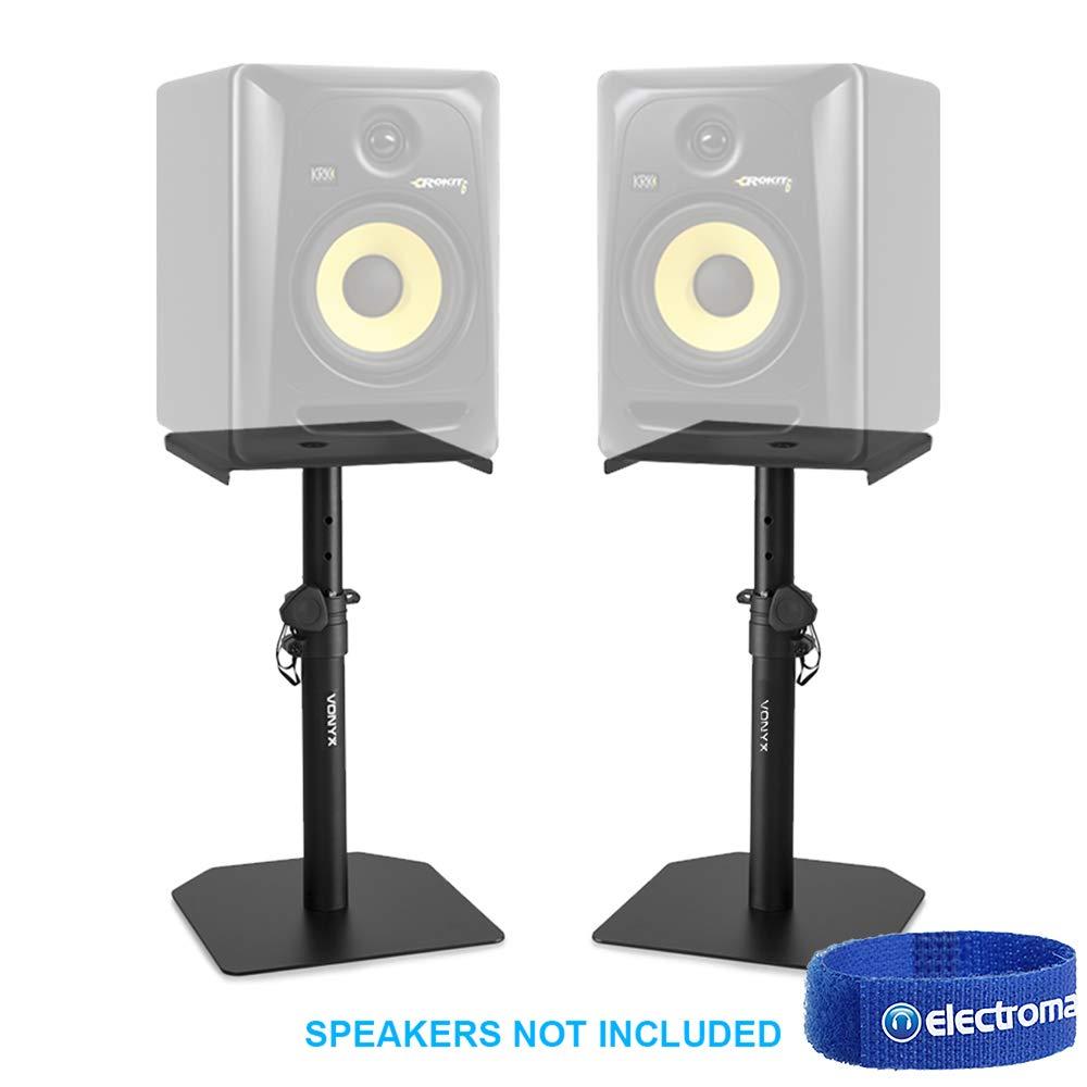Studio Monitor Stand Set Adjustable Height Home HiFi Speaker Desktop Stands Tronios BV