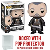 Funko Pop! Game of Thrones: GOT - Stannis Baratheon #41 Vinyl Figure (Bundled with Pop BOX PROTECTOR CASE)