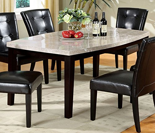 Furniture of America CM3866T Marion I Oval-Edge Dining ()