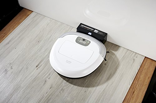 iClebo Wet Mop All-Surface Carpet or Floor, Blade for Pet Hair, Cleans Control Camera-Mapping, Available, White