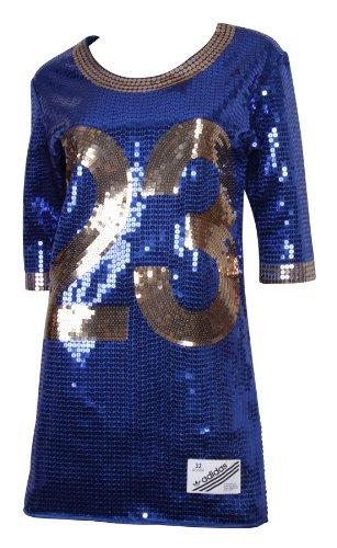 good selling really cheap official supplier Adidas Originals Jeremy Scott Sequin Football Jersey Damen ...